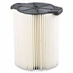 Standard Pleated Paper Vacuum Filter for 5-20 Gallon Wet/Dry Vacs