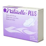 White, 250 Count Naturelle Sanitary Napkins
