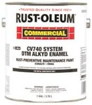 Alkyd Enamel Black Rust-Preventative Maintenance Paint