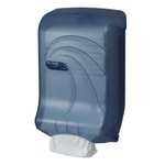 Blue, Large Capacity Ultrafold Multi/C-Fold Towel Dispenser-11.75 x 6.25 x 18