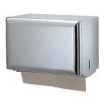 Steel, Single Fold Paper Towel Dispenser-11 x 8