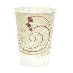 100 Count, Symphony Design Waxed Paper Cold Cups-9-oz