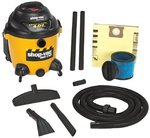 16 Gallon 6.25 Peak Industrial Wet/Dry Vacuums