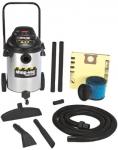 10 Gallon 6.5 Peak Industrial Wet/Dry Vacuums
