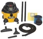 6 Gallon 3 Peak Industrial Wet/Dry Vacuums