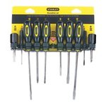 10 Piece Standard Fluted Screwdriver Set