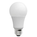 A19 10W Non-Dimmable LED Bulb, Smooth, 4100K