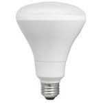 10W Dimmable Smooth Br30 LED Bulb, 3000K