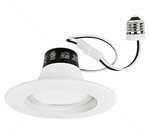 "10W 4"" Recessed LED Downlight, 3000K"