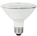 10W Non-Dimmable Smooth PAR30 Short Neck LED Bulb, 2700K,  25 Degree
