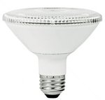 10W Non-Dimmable Smooth PAR30 Short Neck LED Bulb, 3000K, 15 Degree
