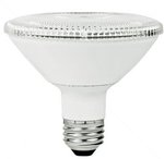 10W Non-Dimmable Smooth PAR30 Short Neck LED Bulb, 4100K, 15 Degree