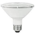 PAR30 10W Dimmable LED Bulb, Smooth, Short Neck, 3500K, 40 Degree