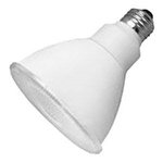 PAR30 12W Non-Dimmable LED Bulb, Smooth, 3500K, 25 Degree