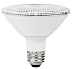 12W Non-Dimmable Smooth PAR30 Short Neck LED Bulb, 3000K, 40 Degree