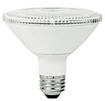 12W Non-Dimmable Smooth PAR30 Short Neck LED Bulb, 3500K, 25 Degree
