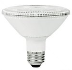 12W Non-Dimmable Smooth PAR30 Short Neck LED Bulb, 4100K, 25 Degree