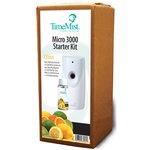 3000 Shot Micro Starter Kit, Citrus, White/Gray