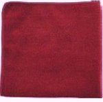 Unisan Lightweight Microfiber Red Cleaning Cloths