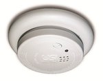Ionization Sensor Smoke Alarm, 9V Battery Operated