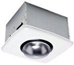 70 CFM Bath Fan with Heat Bulb
