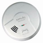 Universal Smoke Sensing Technology (IoPhic) Battery-Operated Smoke and Fire Alarm