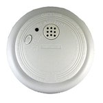 Battery-Operated Photoelectric Smoke and Fire Alarm
