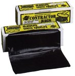 """33 Gallon 40"""" Heavy Duty Trash Can Liners"""