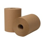 EcoSoft Universal Roll Towels, Natural