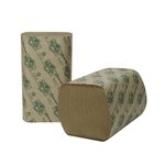 EcoSoft Folded Towels, Natural, 268 Per Pack