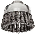 "4"" Single Row Wire Cup Brush"