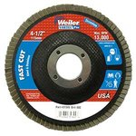 "4-1/2"" Vortec Pro Angled, Phenolic Abrasive Flap Disc with 80 Grit"