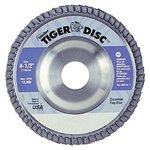 """4.5"""" Tiger Disc Abrasive Flap Disc 40 Grit"""