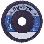 "4-1/2"" Big Cat High Density Abrasive Flap Disc with 60 Grit"