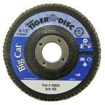 "4-1/2"" Big Cat Abrasive Flat Flap Disc with 40 Grit"