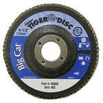 "4-1/2"" Big Cat Abrasive Flat Flap Disc with 80 Grit"