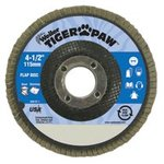 "7"" Type 29 Tiger Paw Coated Abrasive Flap Discs"