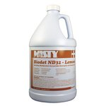 Misty Biodet ND32 Disinfectant Lemon Deodorizer, 1 GAl