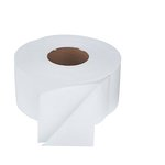 Green Seal Certified White Jumbo Toilet Paper Roll, 1000-ft.