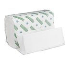 Green Seal Certified White Multi-Fold Hand Paper Towels