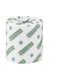 Green Seal Certified White 2-Ply Tissue Paper Roll