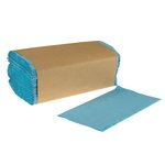 Blue Kraft 1-Ply Single-Fold Paper Towels