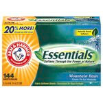 Essentials Mountain Rain Fabric Softener Sheets