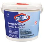 Clorox Germicidal Wipes in Container 12X12