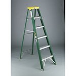 6 FT Fiberglass Commercial Step Ladder