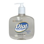 Liquid Dial Antimicrobial Soap For Sensitive Skin 16 oz. Pump
