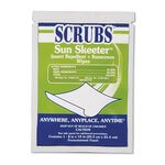 """8"""" x 10"""" Sun Skeeter Insect Repellent and Sunscreen Wipes"""