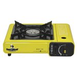 Yellow/Black Portable Butane Stove