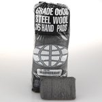 #0 Medium Fine Grade Quality Steel Wool Hand Pads, 192 Per Case