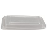 Clear, 300 Count Plastic Microwave Safe Container Lids-12 And 16-oz
